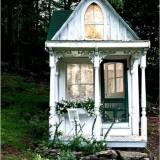 Интерьер и декор миниатюрного дачного домика