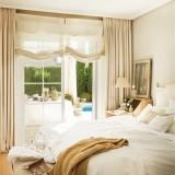 Спальня в светлых тонах: идеи воплощения