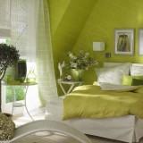 Зеленая спальня и идеи для ее интерьера