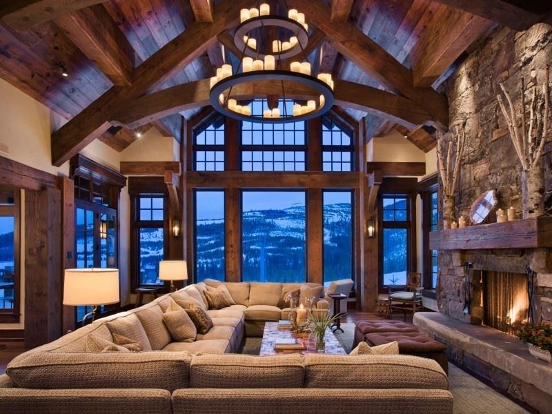 Лучшие дизайны деревянных домов