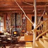 Идеи для интерьера деревянного дома