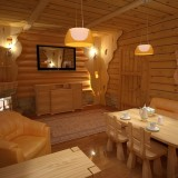Идеи для интерьера деревянной бани