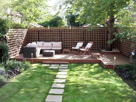Как сделать двор на даче