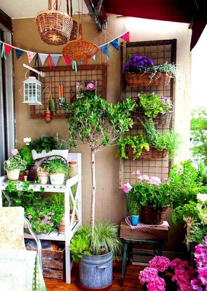 Как сделать огород на балконе. фото идеи для дачи.