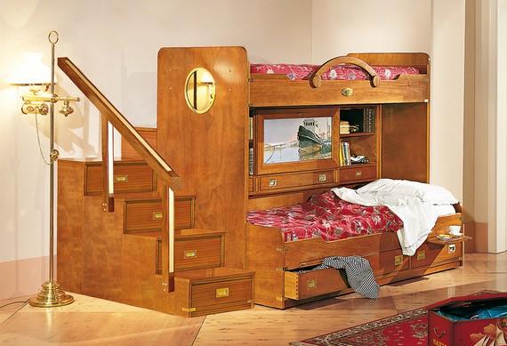 Элитная детская мебель итальянского производителя Caroti