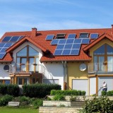 Солнечные модули для электроэнергии в коттеджах