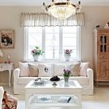 Белый и нежно-розовый: Квартира в Гетеборге, Швеция