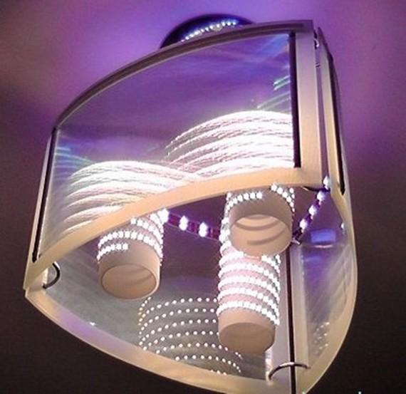 Как сделать светильник из светодиодной ленты своими руками 42