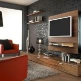 Телевизор в интерьере маленькой гостиной
