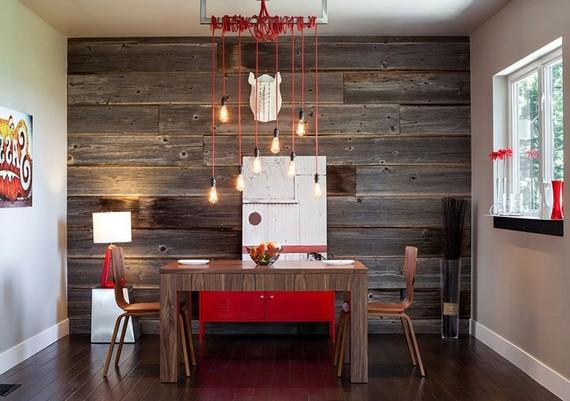Ламинат на стену фото в интерьере кухни фото