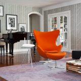 Яркие кресла для необычных интерьеров