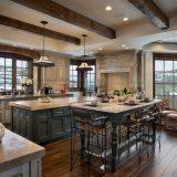 Кухня в стиле шале: комфорт, простота, сдержанность