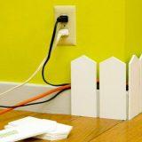 Как спрятать провода: идеи для хранения
