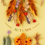 Поделки в технике квиллинг: осень из цветной бумаги и 15 идей того, как можно ее изобразить