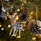 На заметку рукодельницам: 74 идеи простых новогодних украшений для дома своими руками