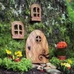 Дверь для феи: 21 идея сделать дверь, вход, сад или дом для гнома или фейри в дереве