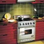 Плита в интерьере кухни: идеи расположения